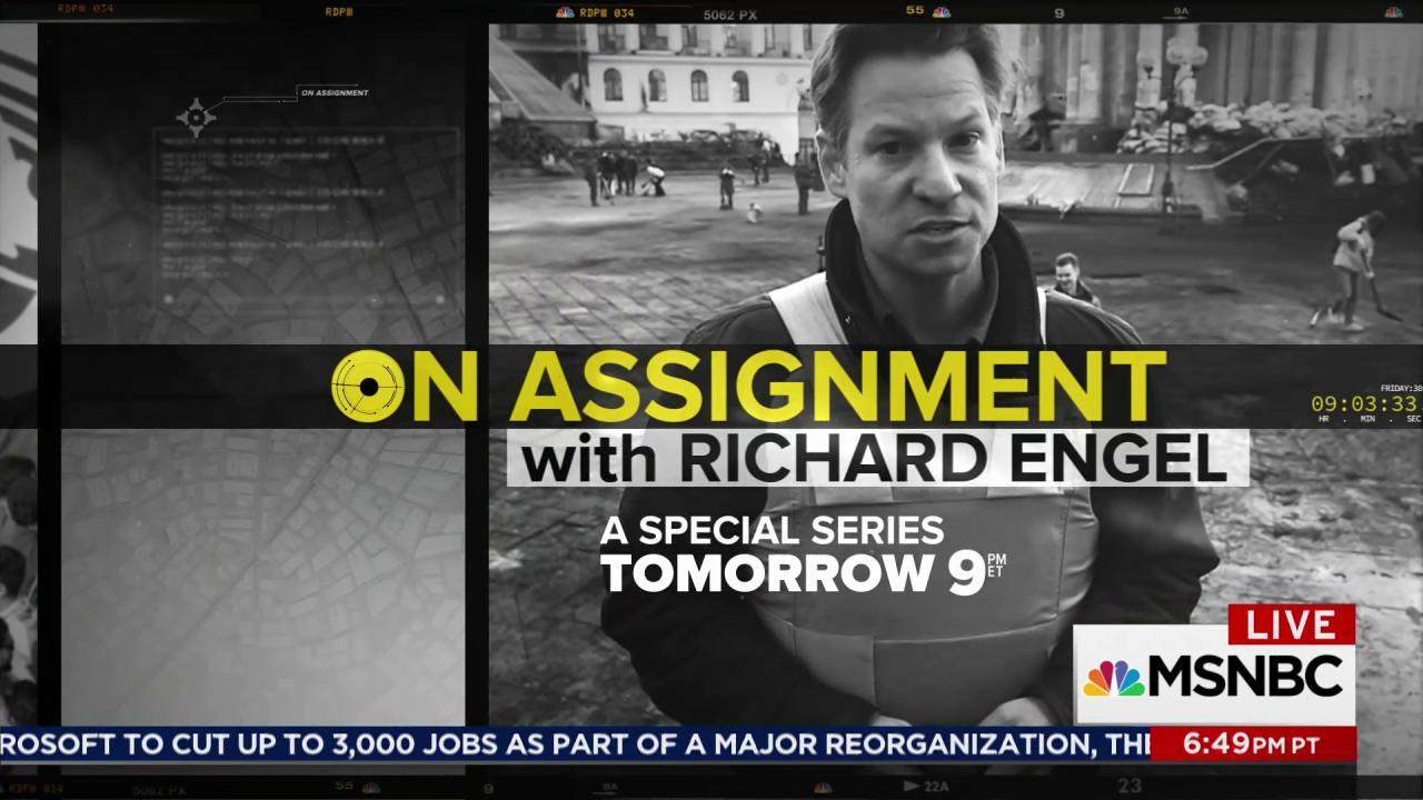 Richard Engel previews special: On Assignment