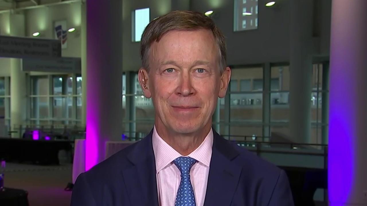 Hickenlooper: Voters are worried about Trump's transparency