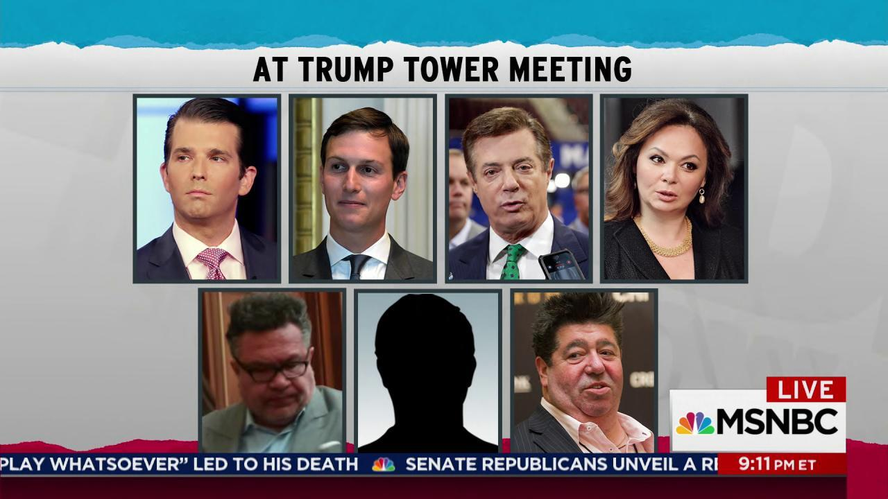 Trump Jr Russian meeting scandal continues