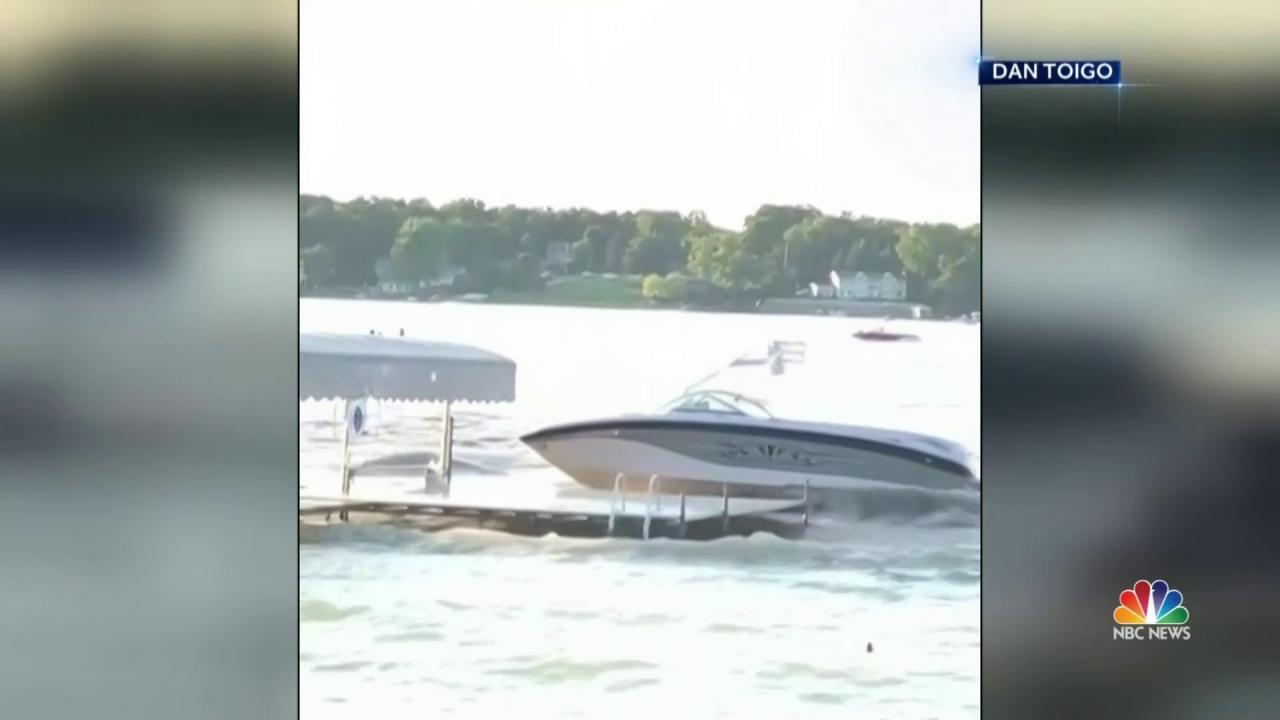 Indiana Boat Accident: 10 Thrown Overboard, Four Seriously Injured
