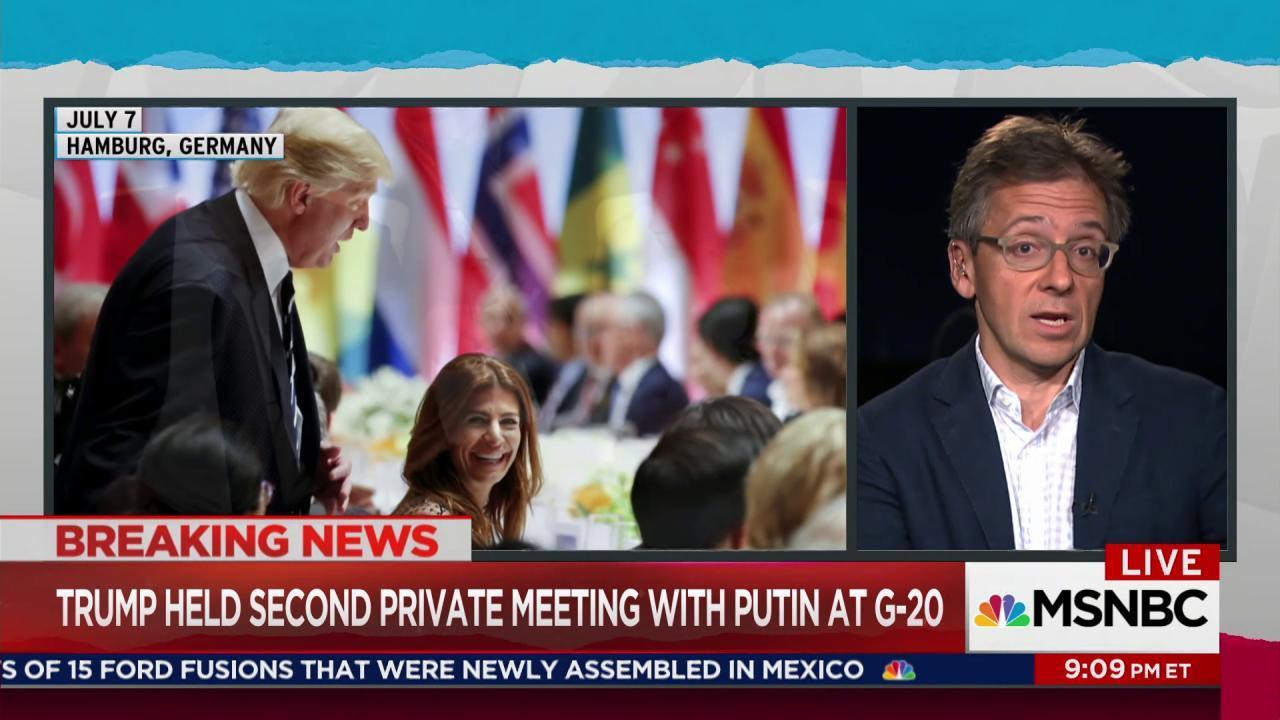 Trump, Putin had second encounter at G20