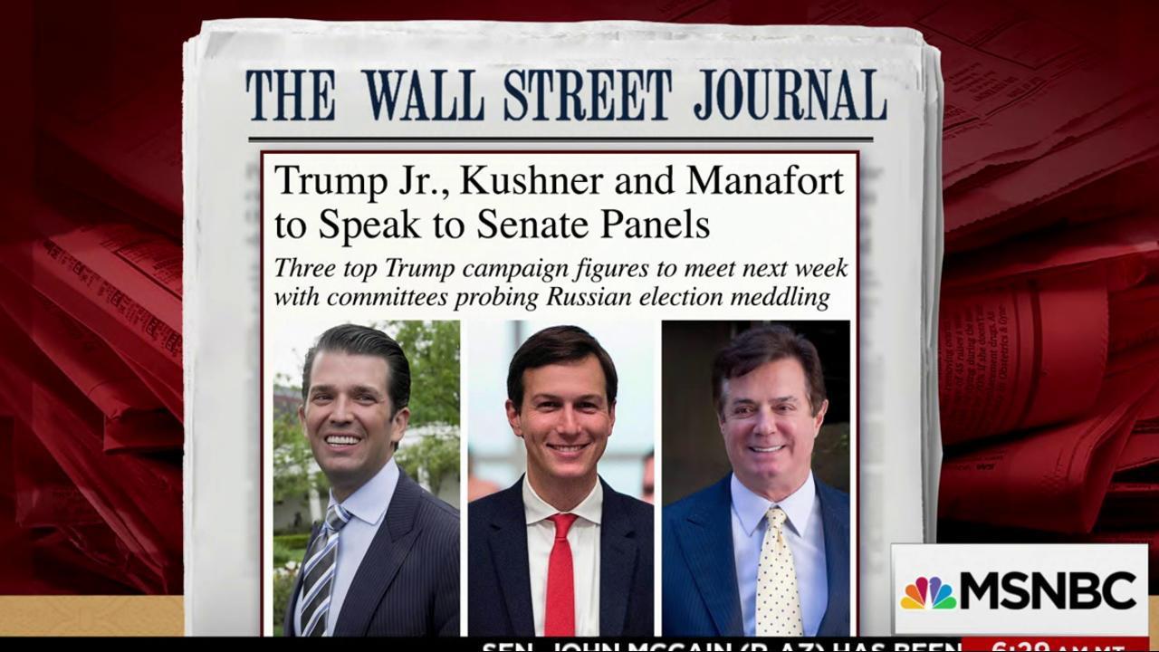 Why Manafort, Trump Jr.'s testimony will...
