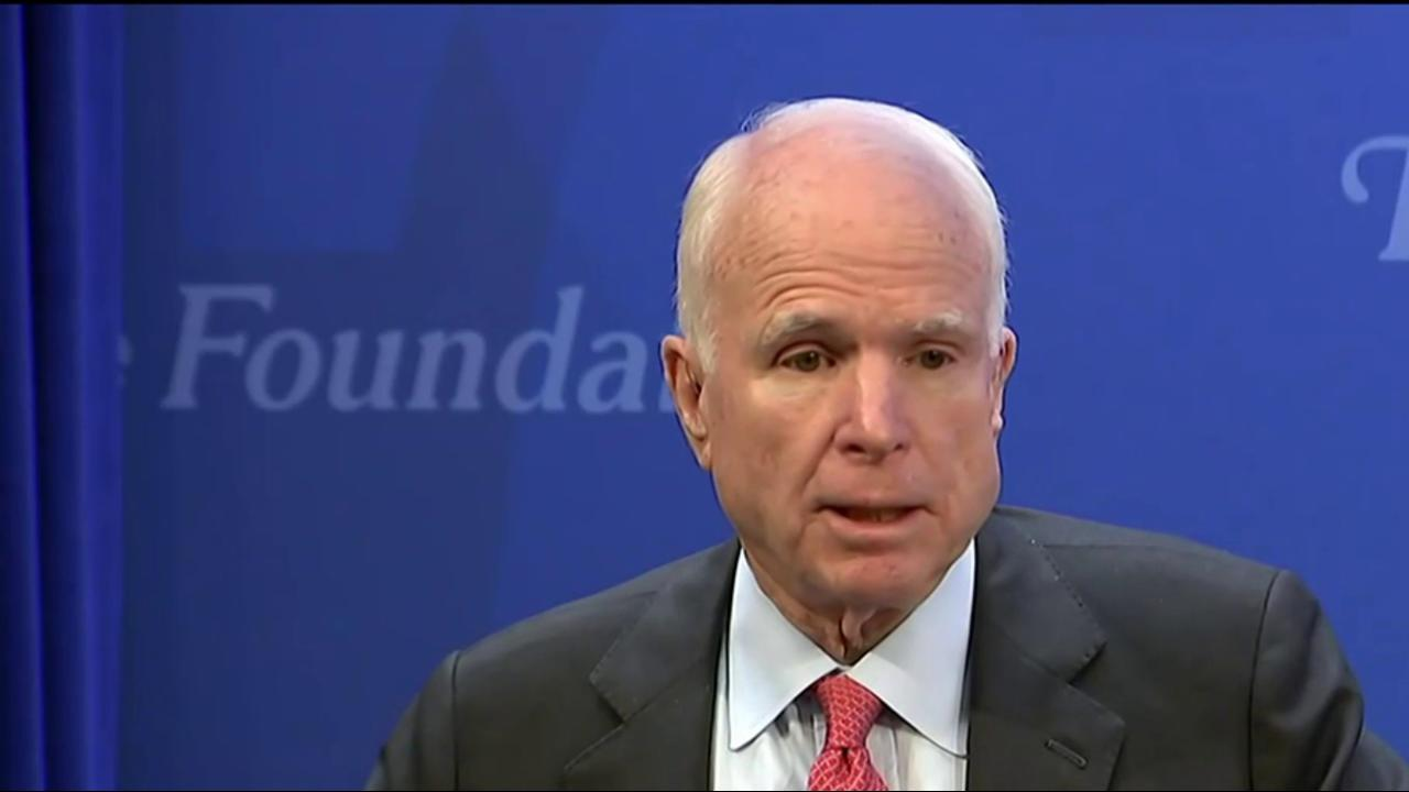 McCain returning to Senate for critical...