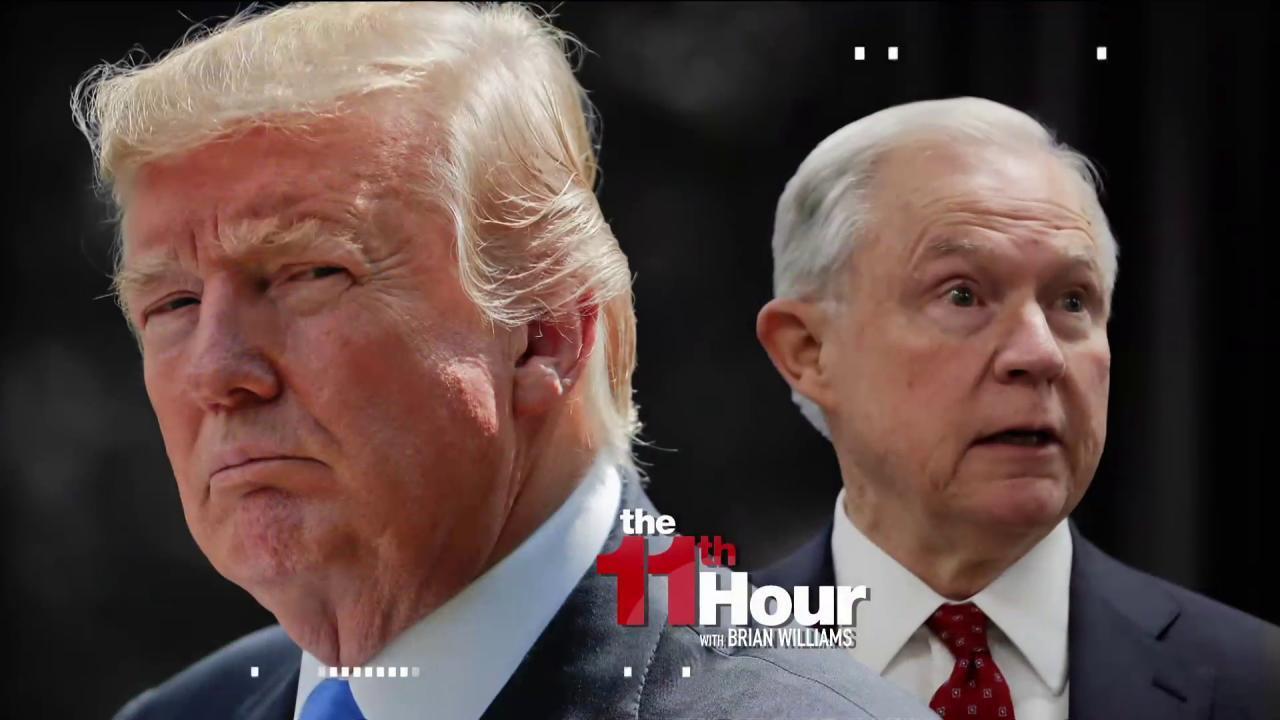 Sessions inner circle on Trump pressure:...