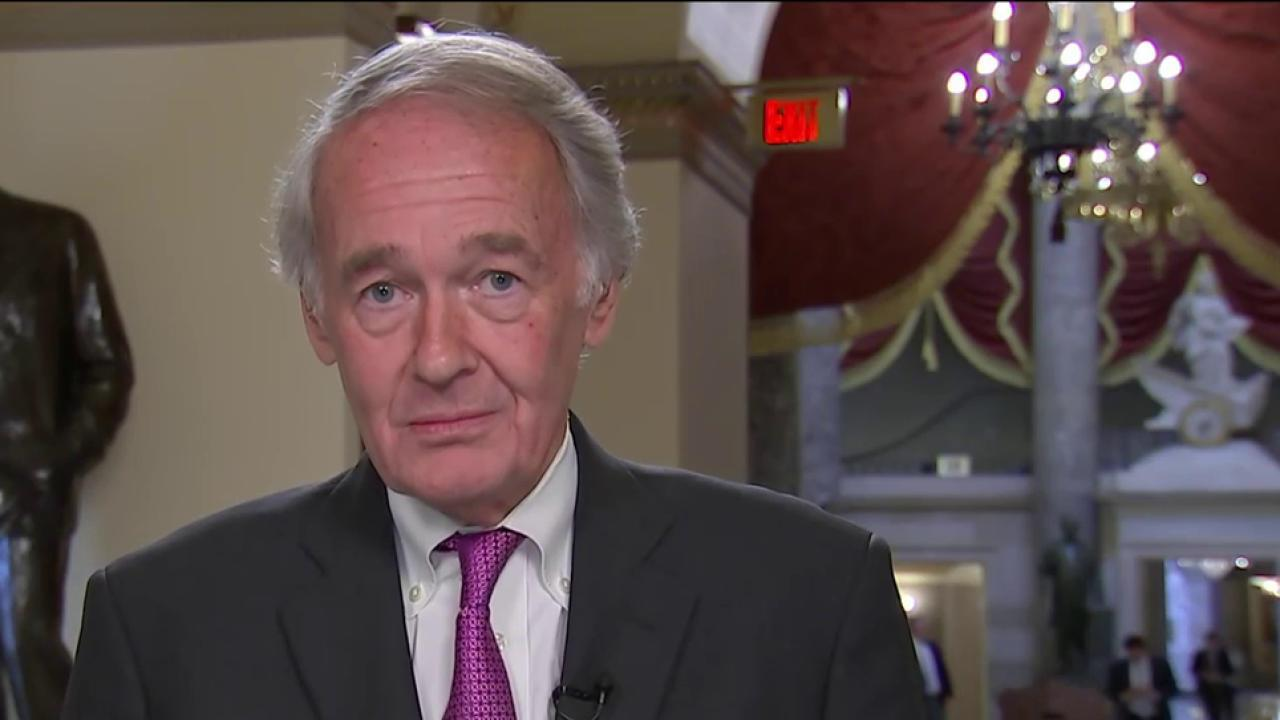 Markey: Neither Party Trusts Trump to...
