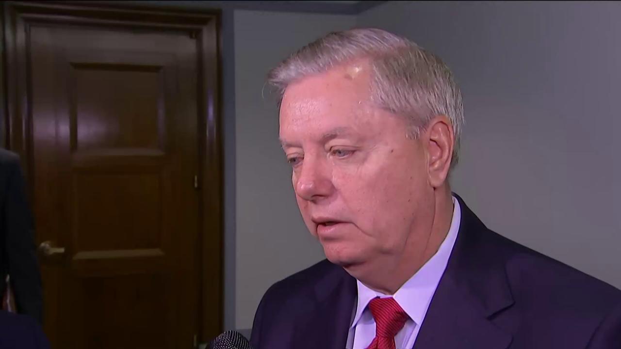 Graham bill would block Trump from firing...