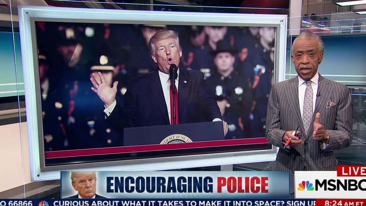Encouraging Police?