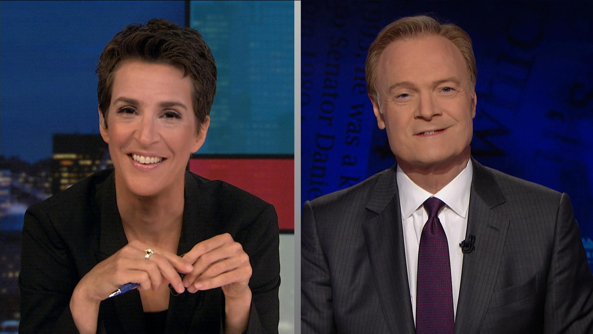 Maddow and Lawrence discuss a big news day...