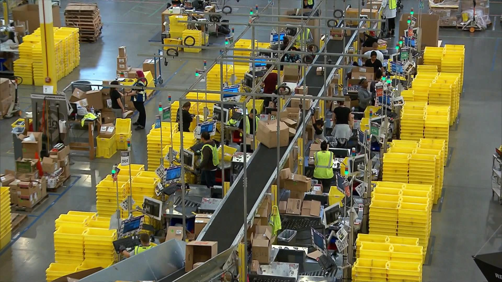 Fulfillment Center Warehouse Jobs Give New Life to Sleepy Towns