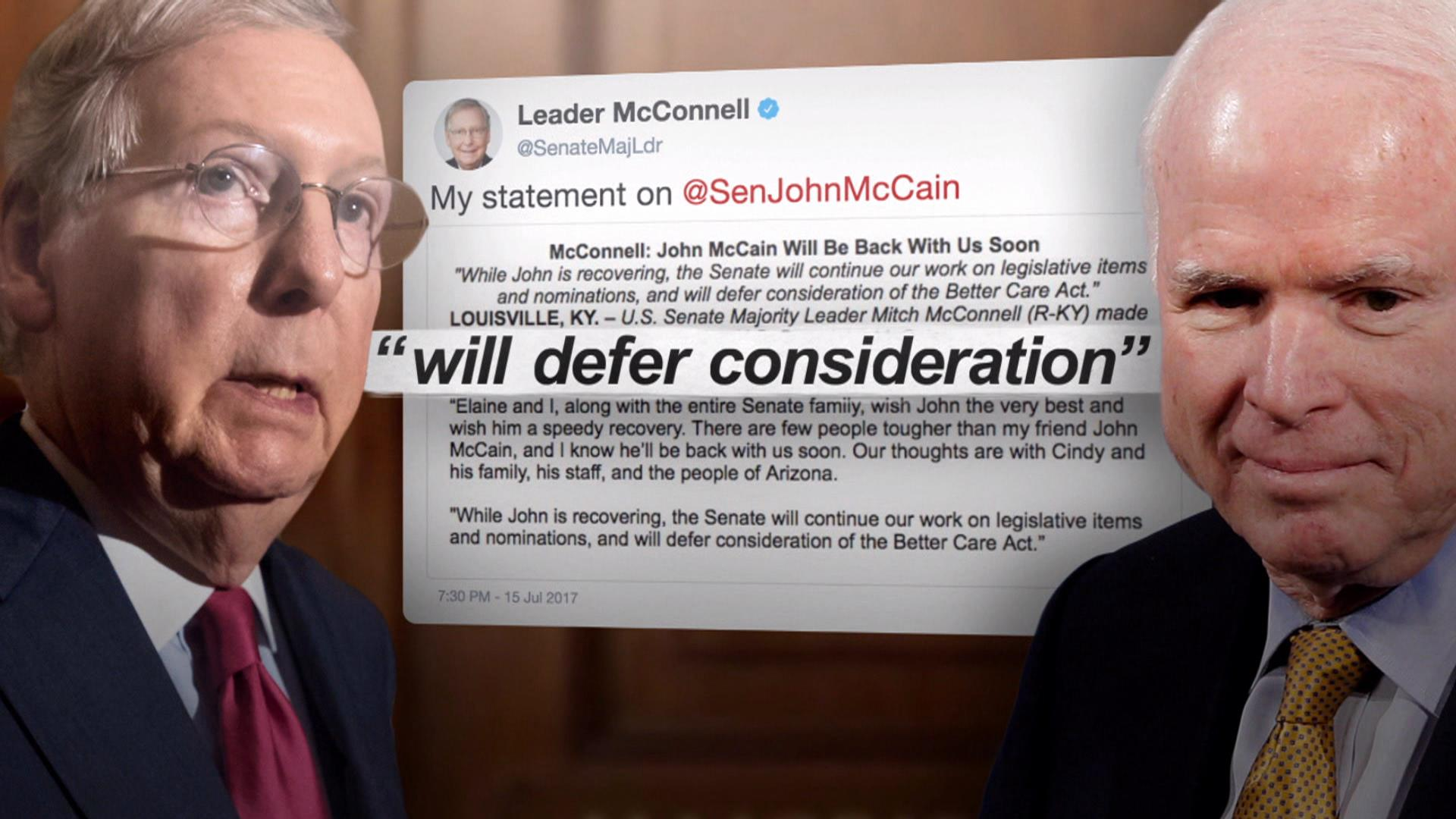Image result for PHOTOS OF MCCAIN AND MCCONNELL