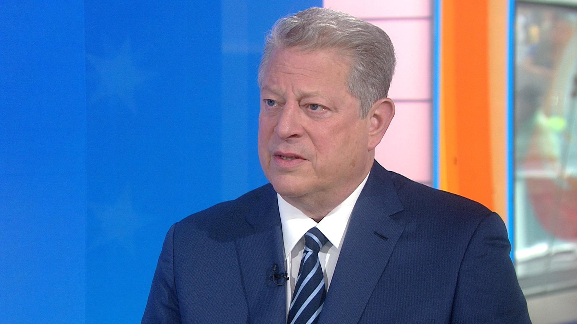 the self assurance and decisiveness of vice president al gore