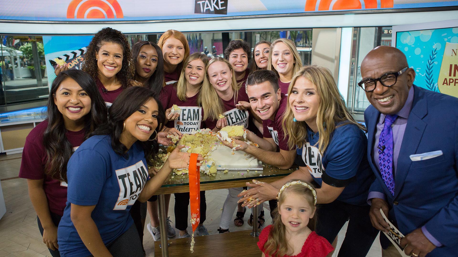 Can Jenna Bush Hager and Sheinelle Jones outdo NBC summer interns? Watch!