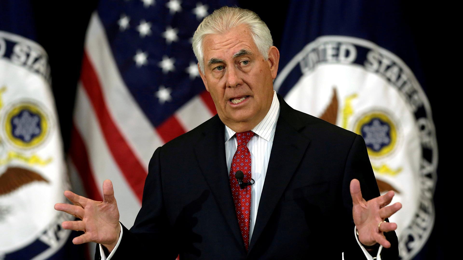 Tillerson: Trump, Putin Discussed Syria...