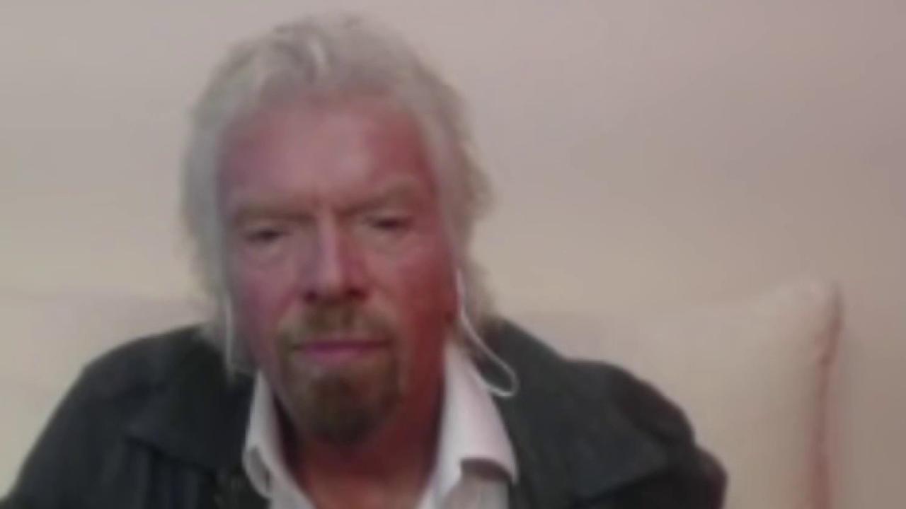 Branson, billionaires announcing $1B clean...