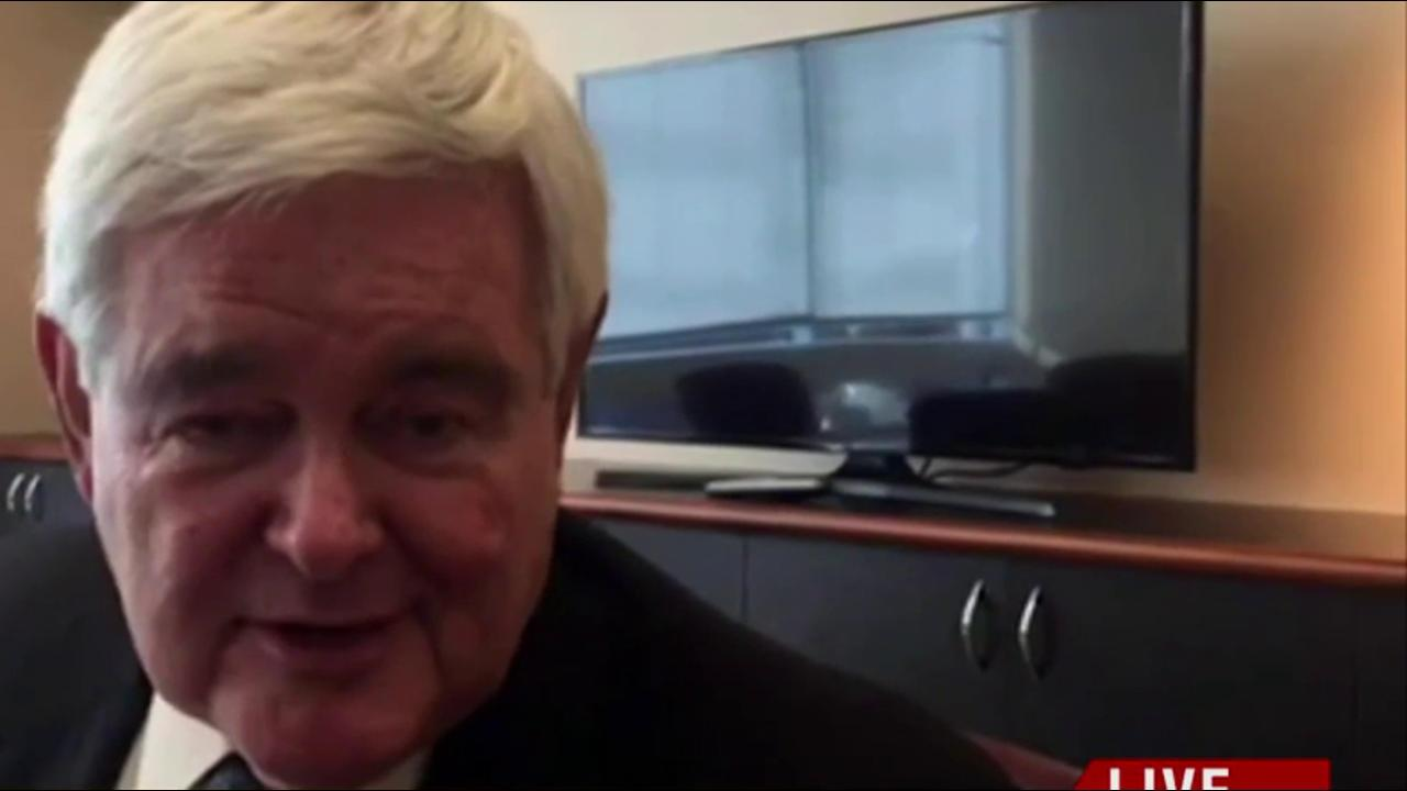 Gingrich walks back 'drain the swamp' remarks