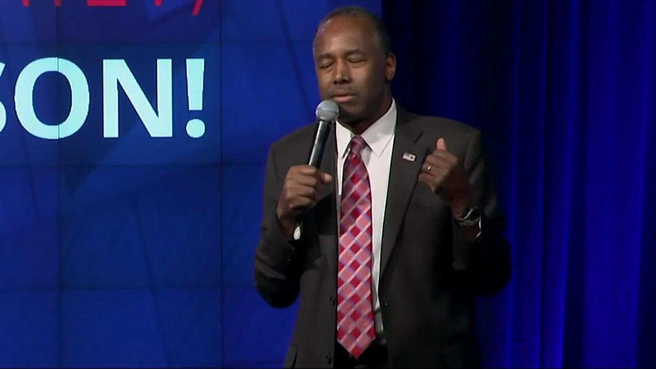 'That's just dumb': Carson's 'immigrants'...