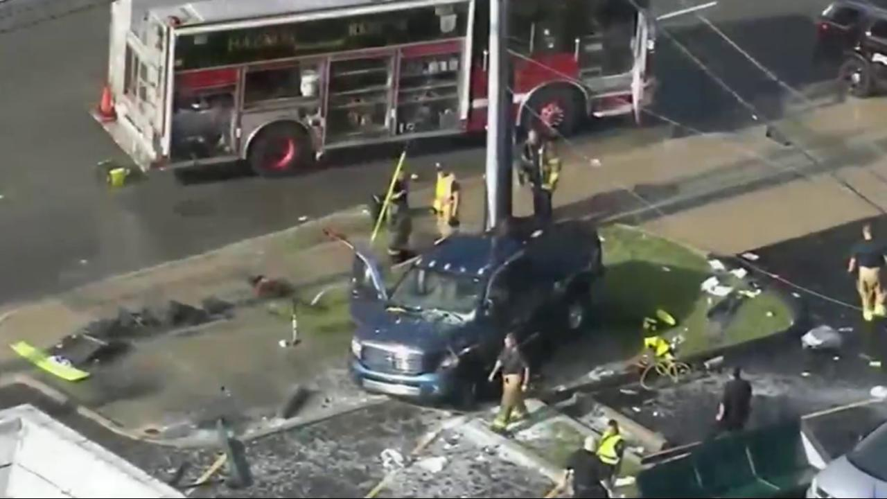 Six People Injured in Suspected Drunk Driving Accident - NBC News