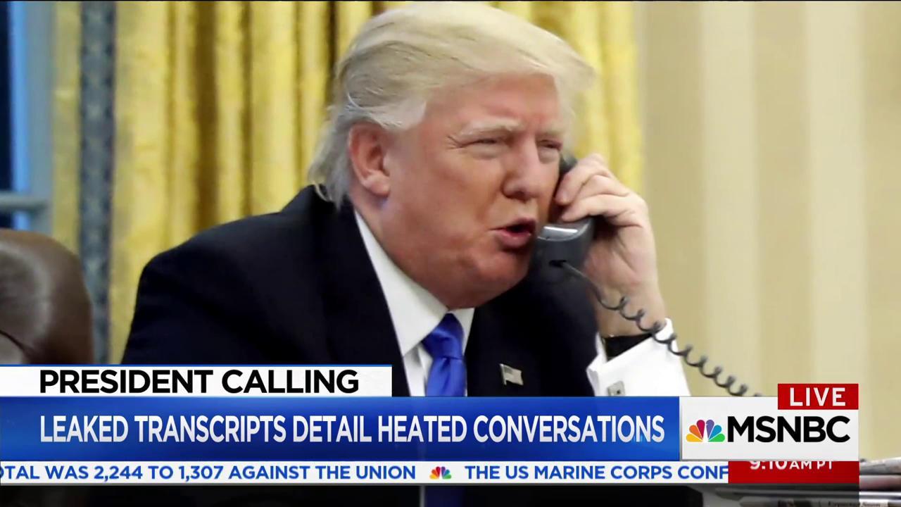 Leaks beleaguer Trump White House, reveal...