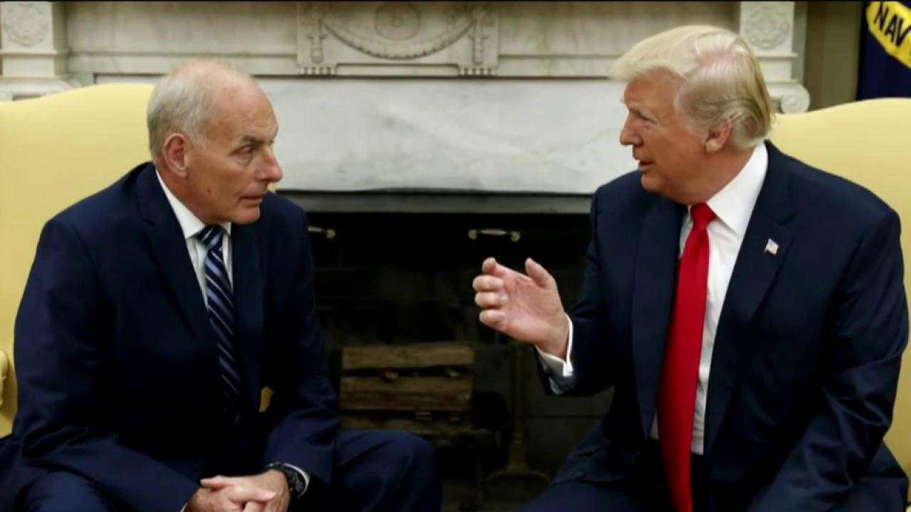 Kelly using a heavy hand with Trump? Not...