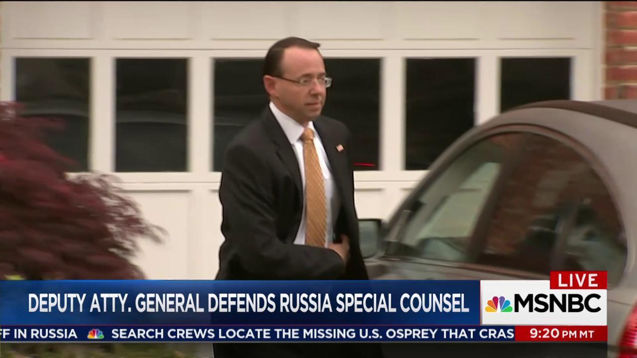 Trump's Deputy Attorney General defends...