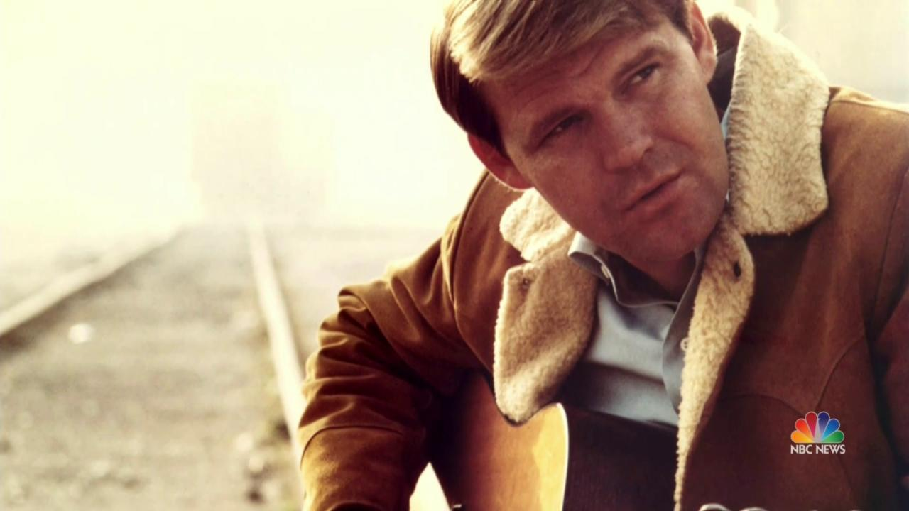 Country Music Singer Glen Campbell Has Died Nbc News