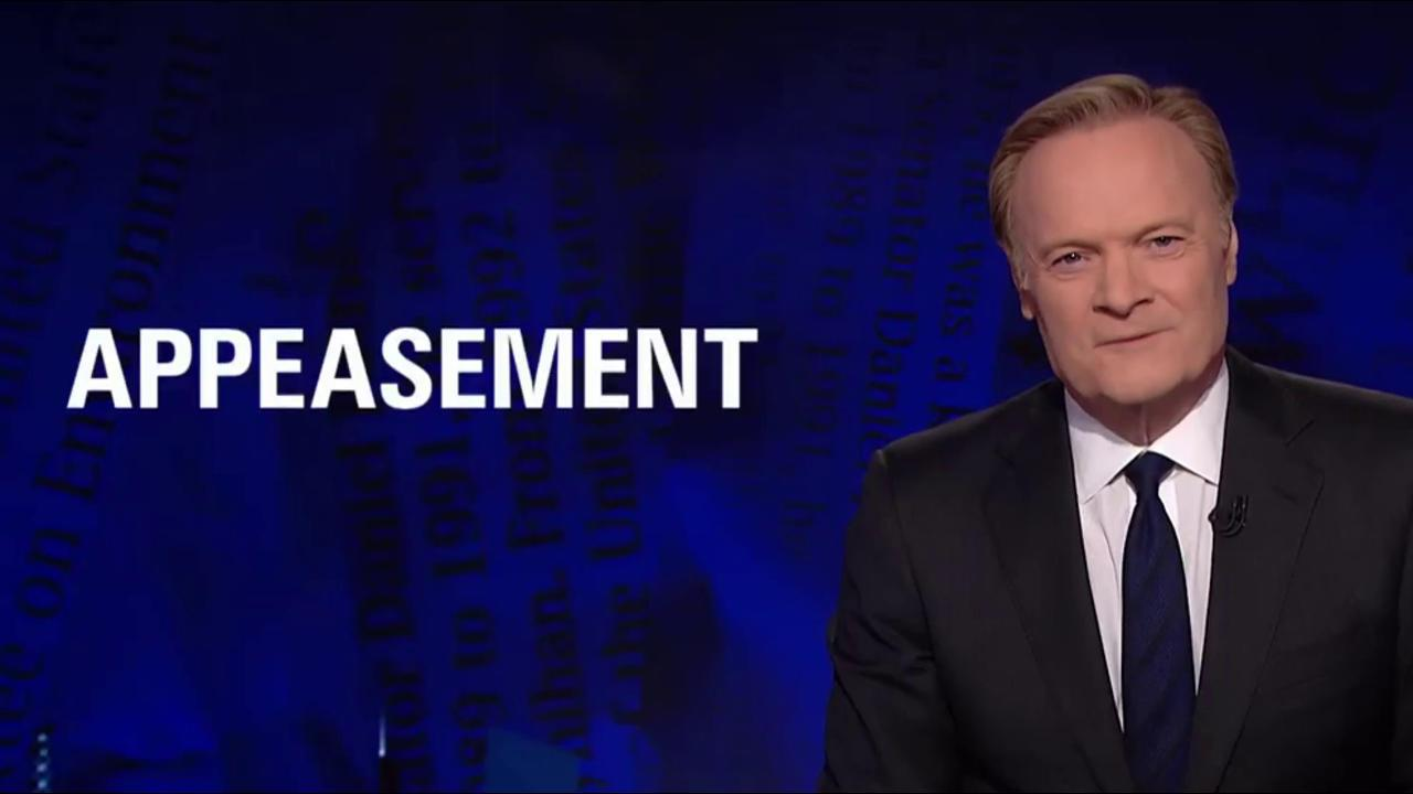 Lawrence: Trump's ultimate act of...