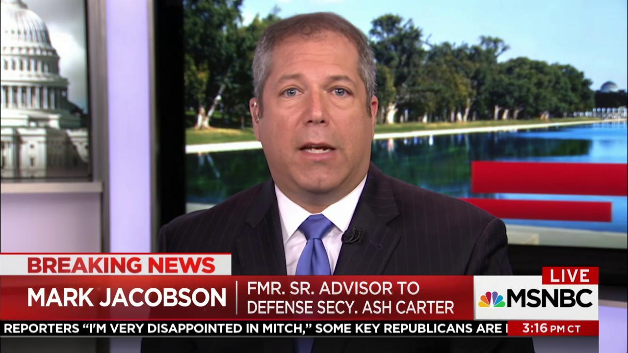 Jacobson: 'It is scary, it's irresponsible...