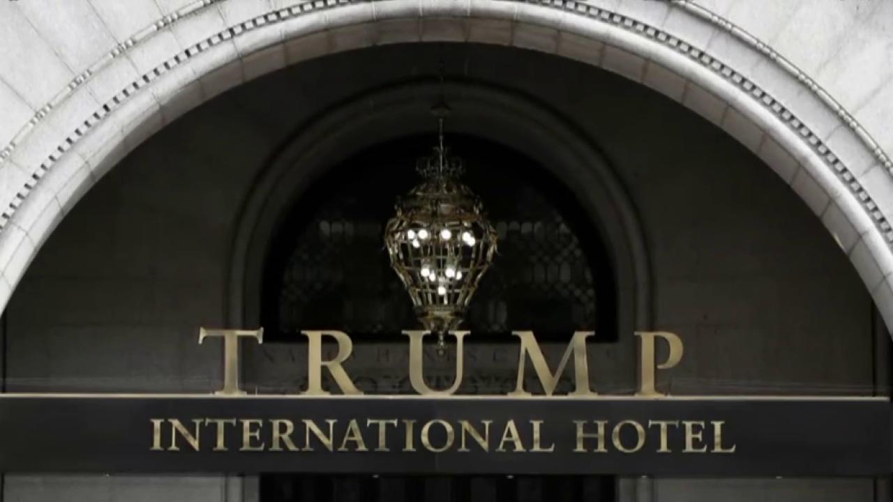 Business is booming at the Trump hotel in...