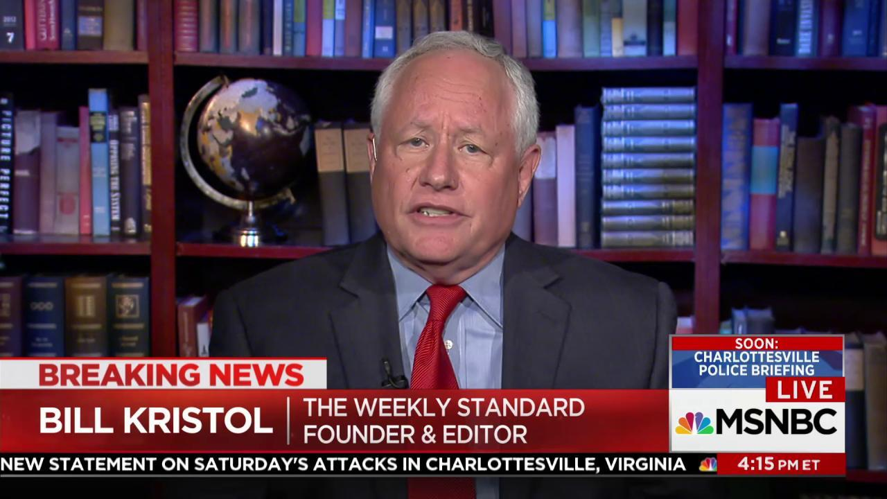 Kristol: I've given up on looking for...