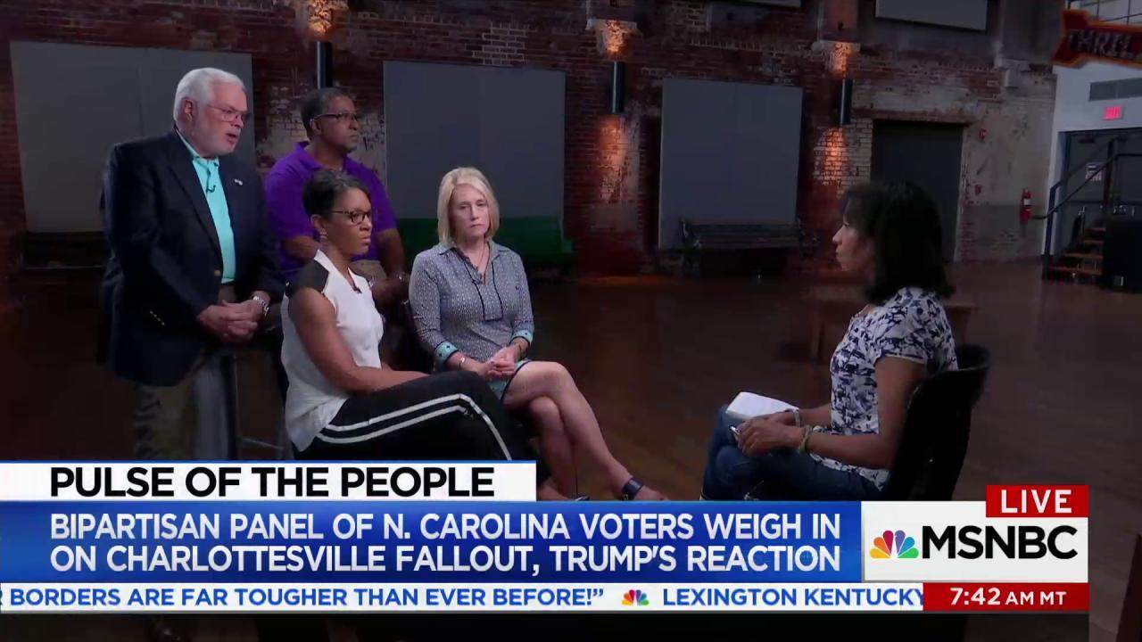 Voters grade Trump's response to...