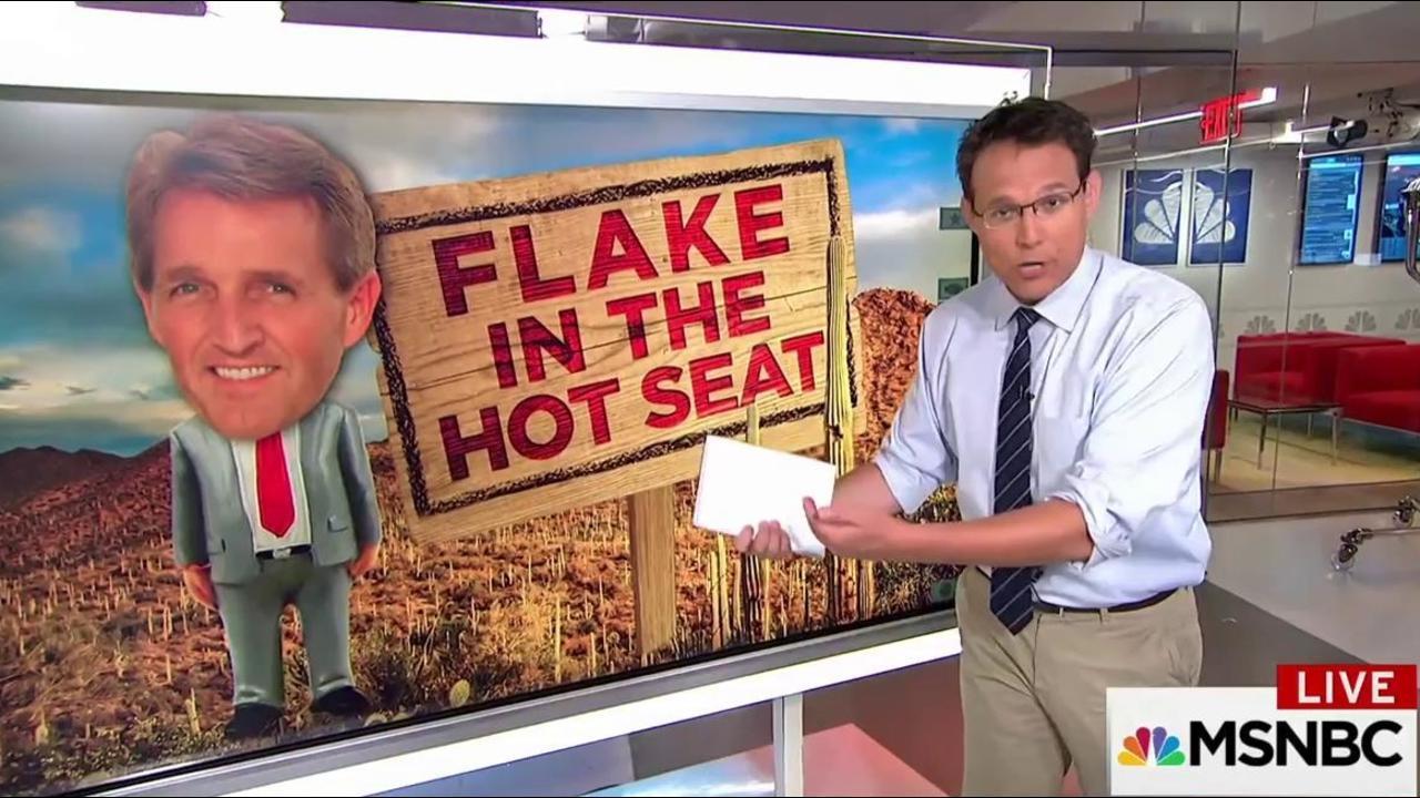 Breaking Down Sen. Flake's Uphill...