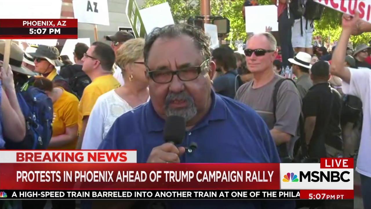 AZ Rep.: I wouldn't feel safe at Trump rally