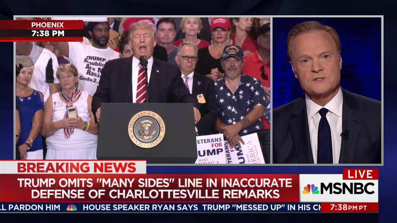 Lawrence calls out Trump's Charlottesville...