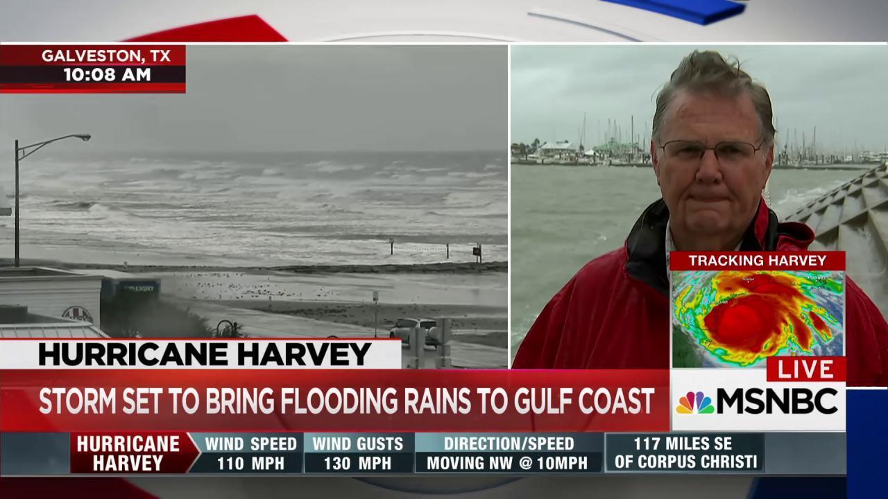 Corpus Christi Mayor McComb urges residents to stay safe during Harvey - NBC News