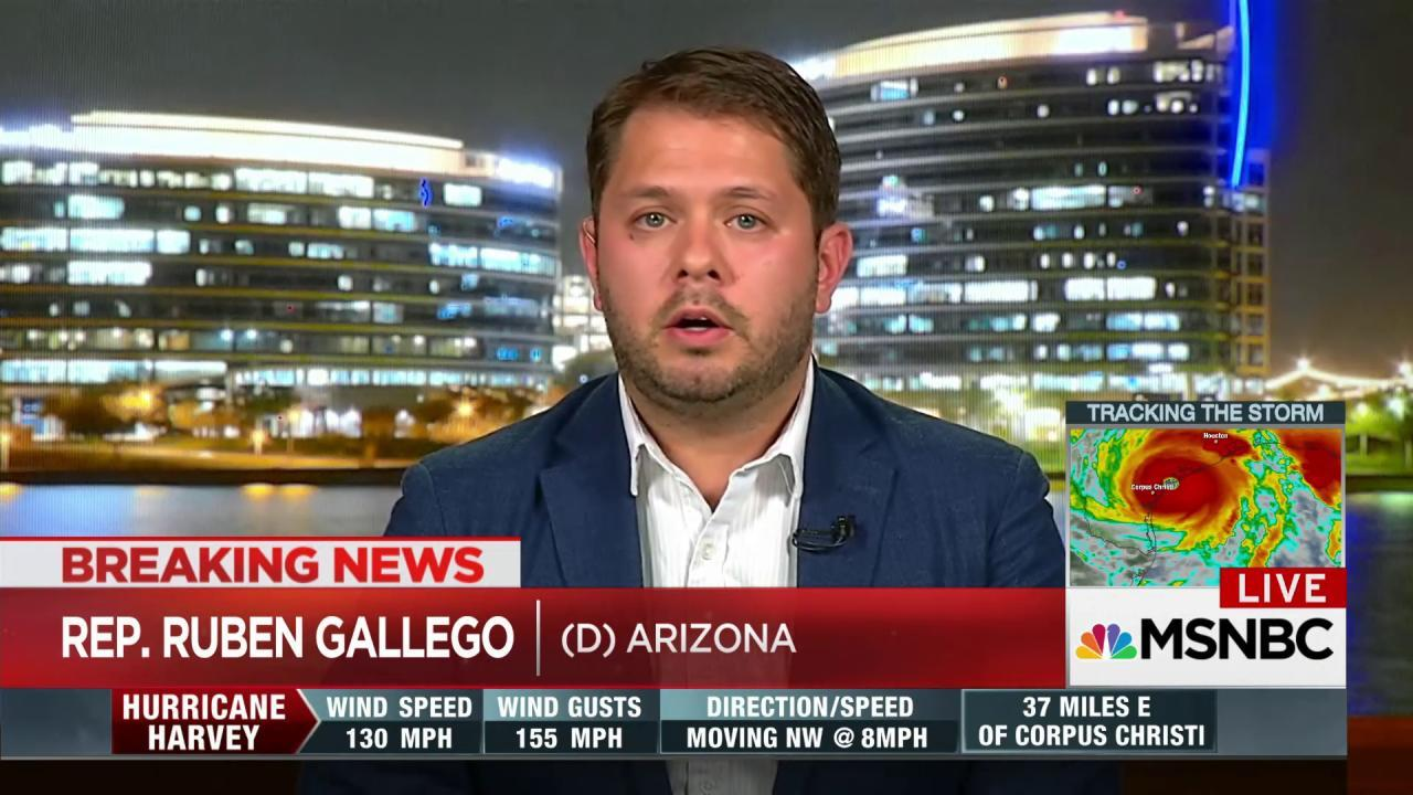 Gallego: Trump is a racist pardoning a racist