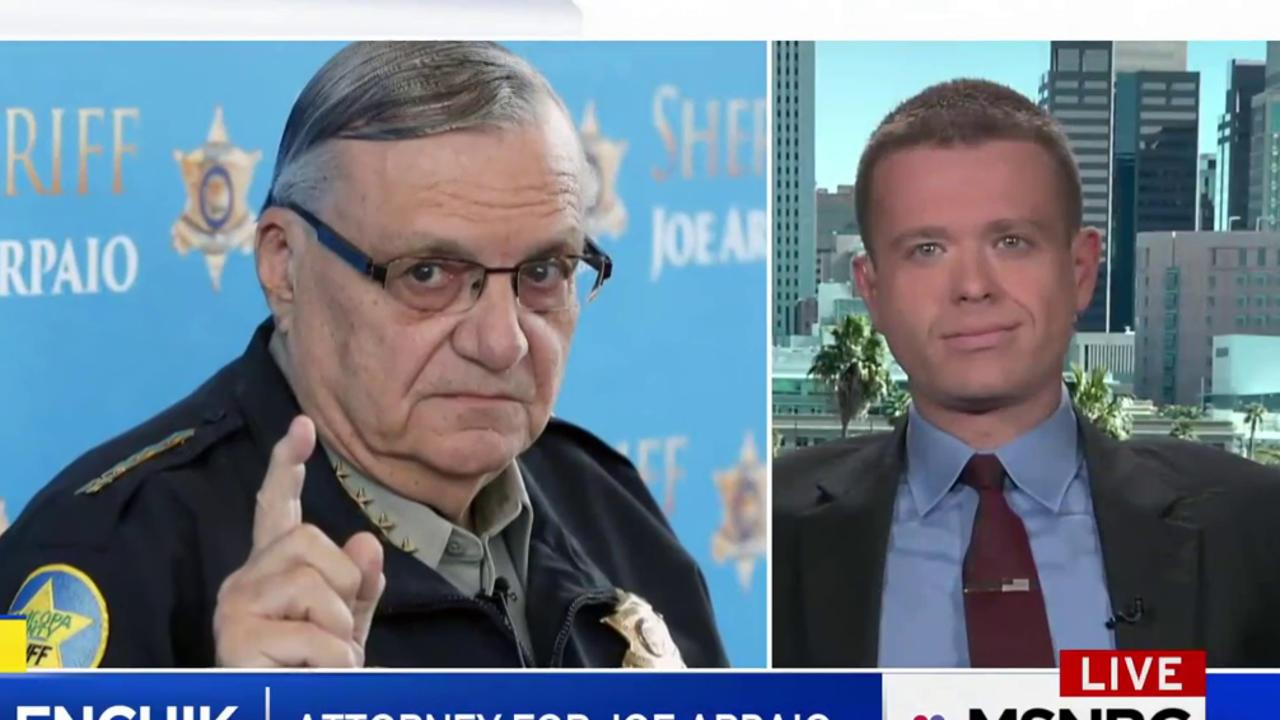 Arpaio's attorney speaks out after Trump's...