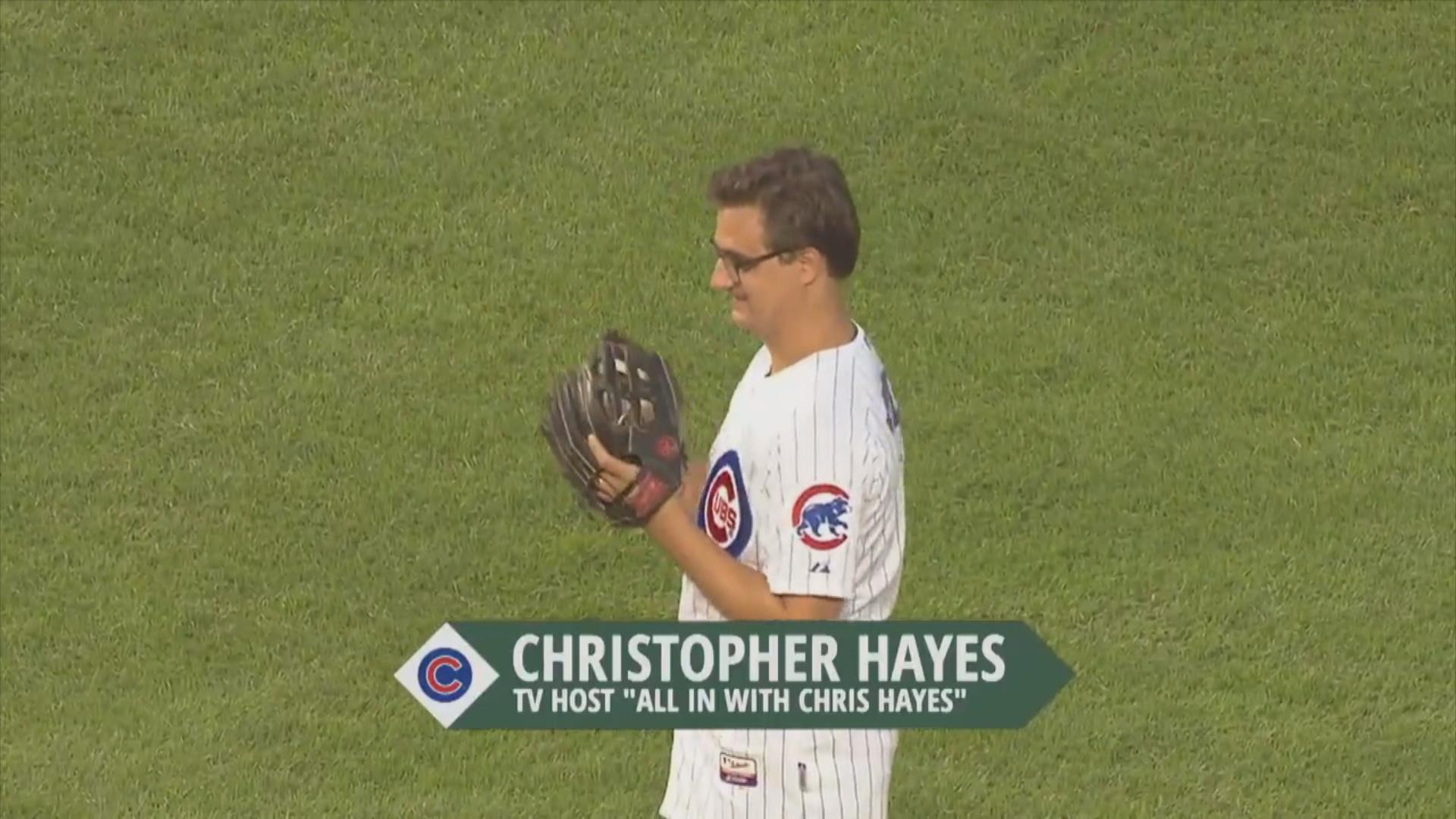 Would Chris Hayes get 1 hit in a full...