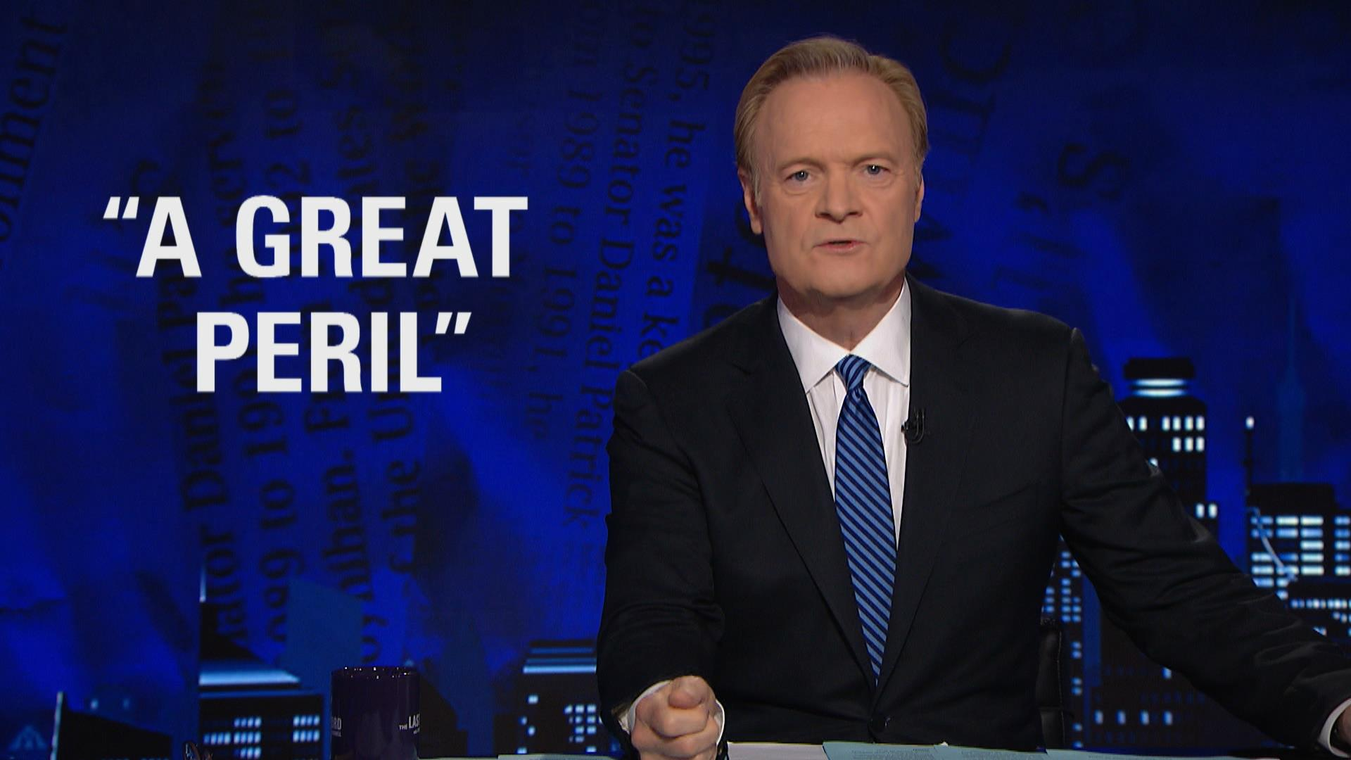 Lawrence: Trump responds to Barcelona...