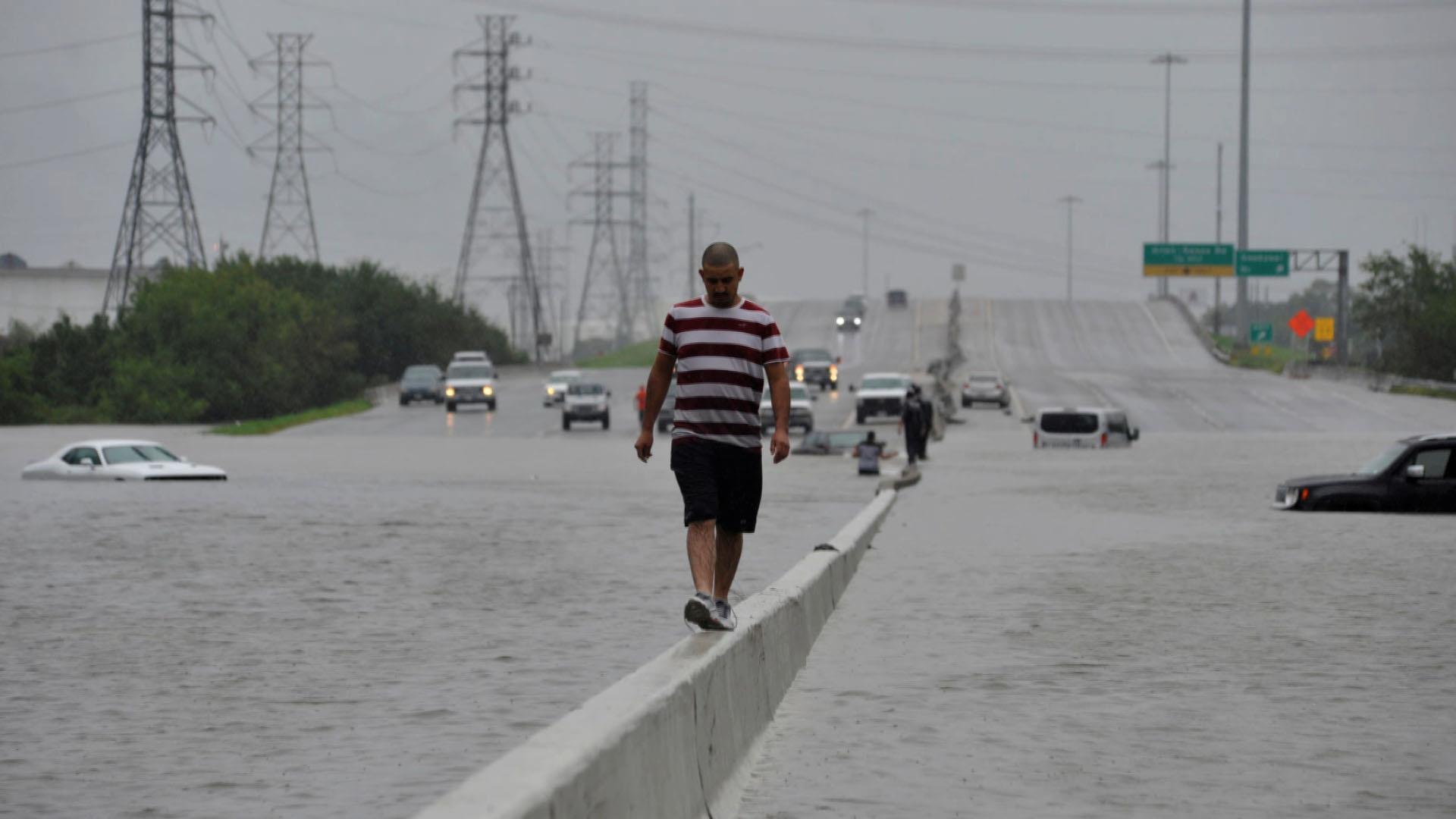 'Our Town Is Destroyed': Texans Face Hurricane Harvey Destruction