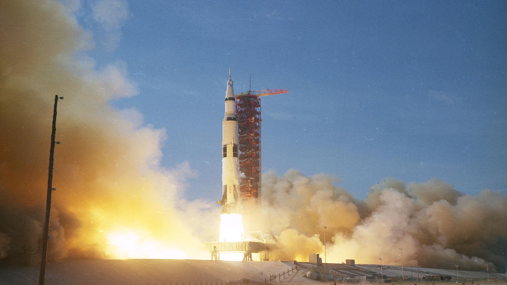 Apollo 13 launch