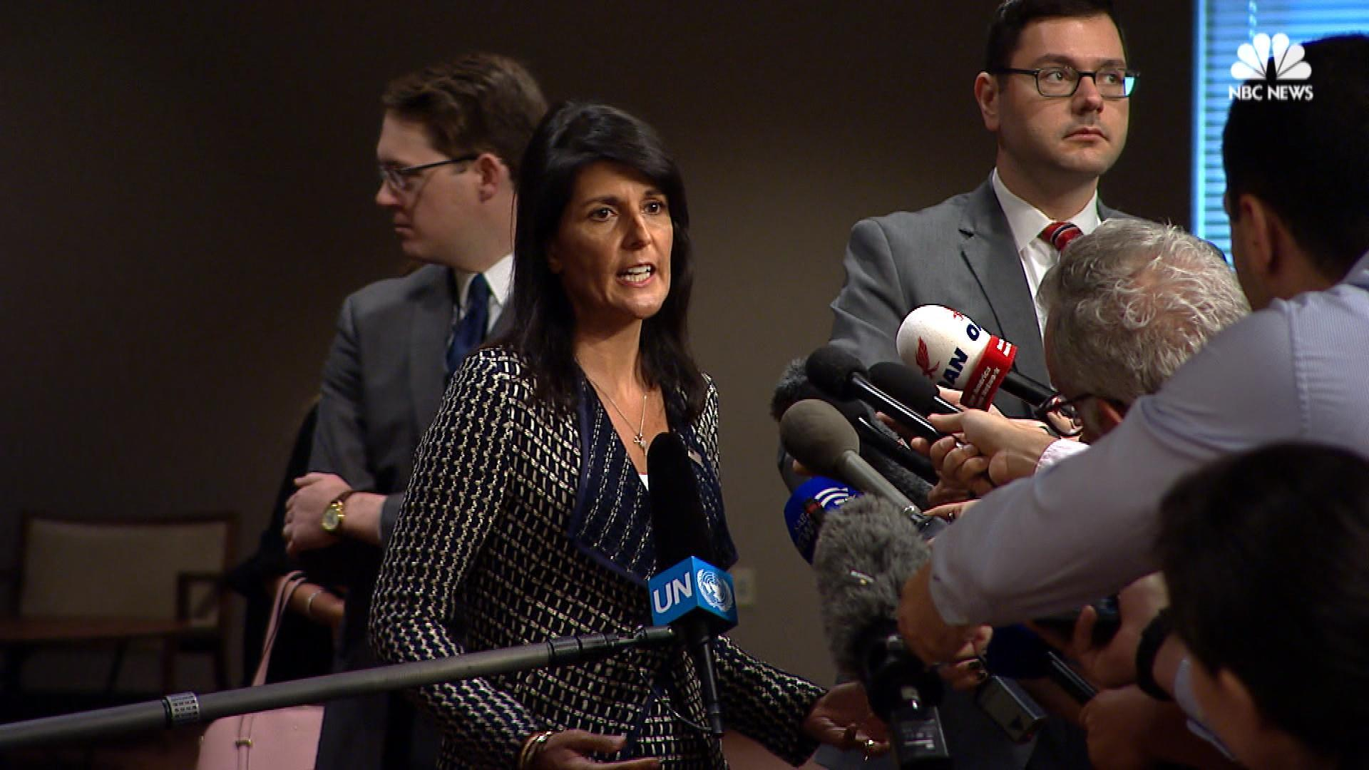 Haley on North Korea's Latest Missile Launch: 'Enough is Enough'