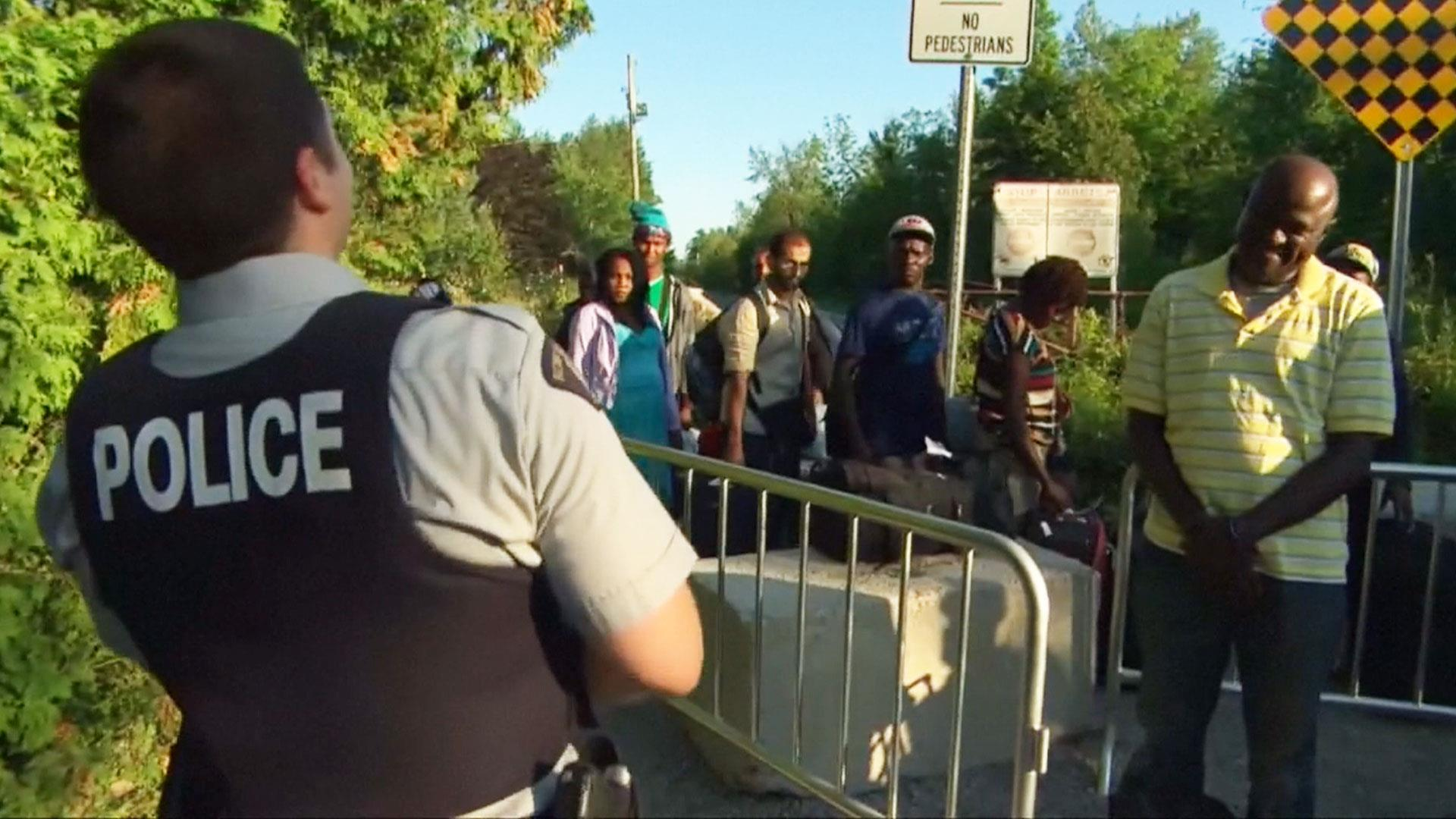 Image result for haitian refugees go to Canada