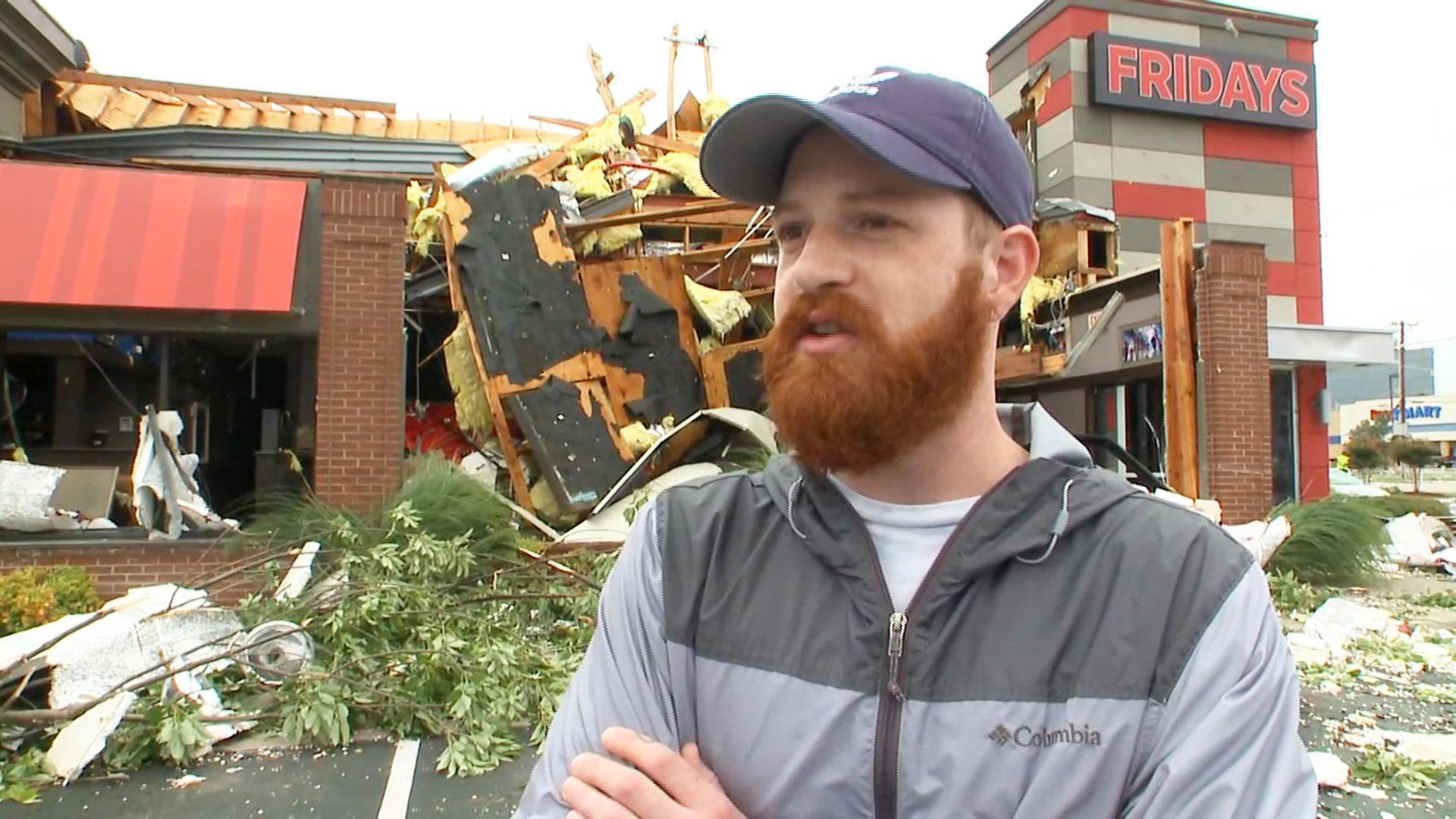 Tornado Destroys Businesses Injures Dozens In Tulsa