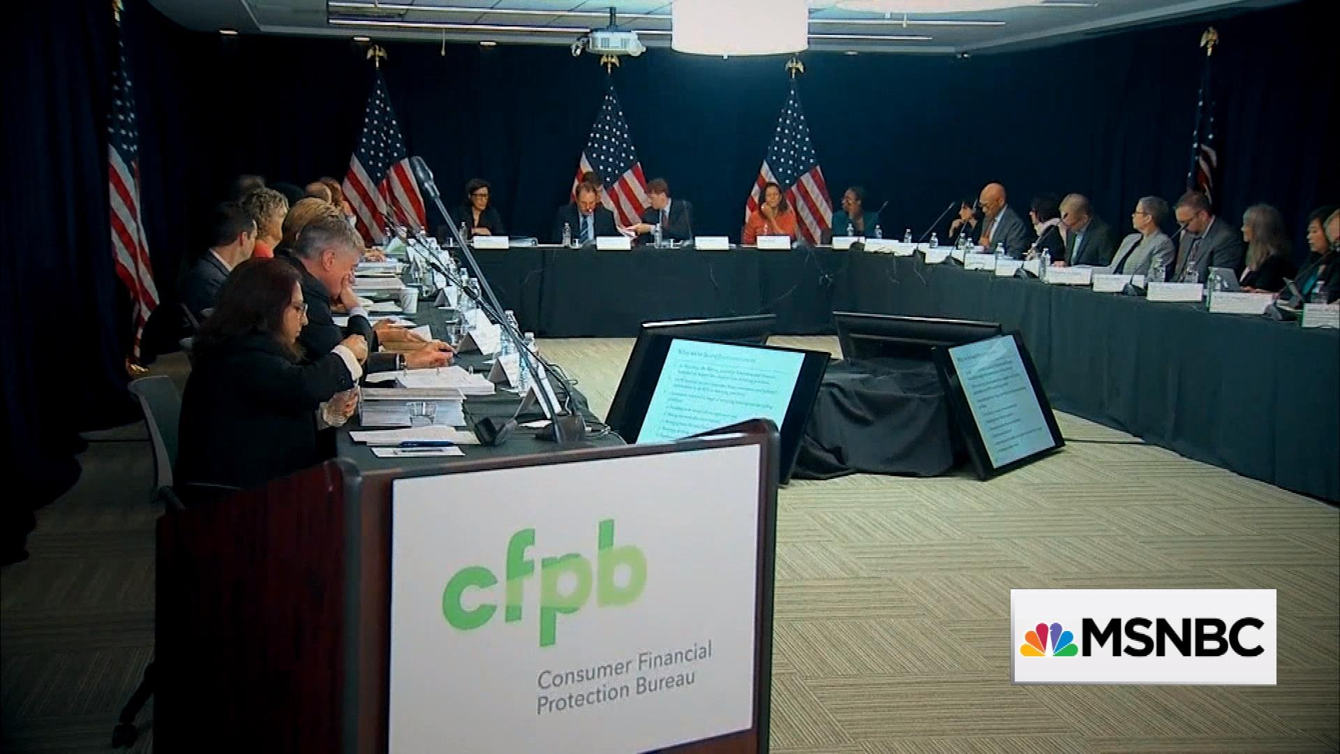 Image result for photos of republicans working to roll back cfpb consumer protections