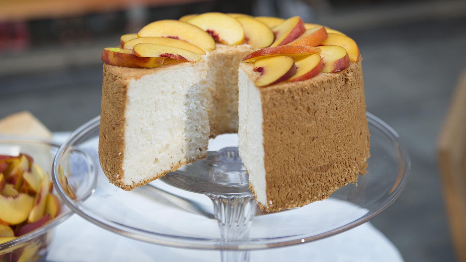 Katie Lee Angel Food Cake