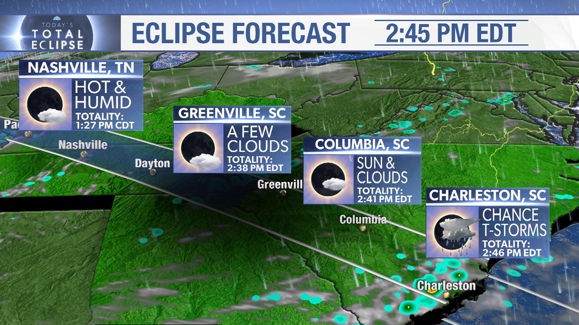 In the Path of the Total Eclipse Here s Where and When to See It