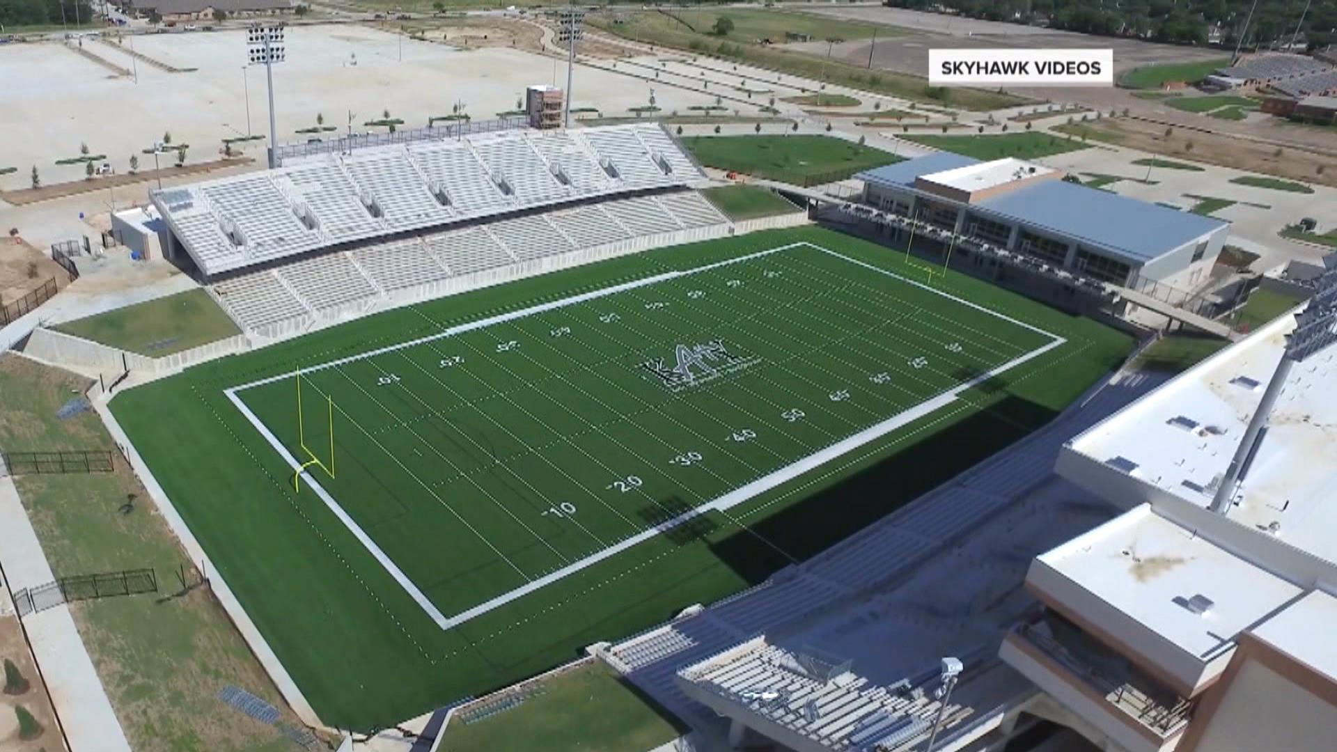 get a first look inside 70 million texas high school football stadium