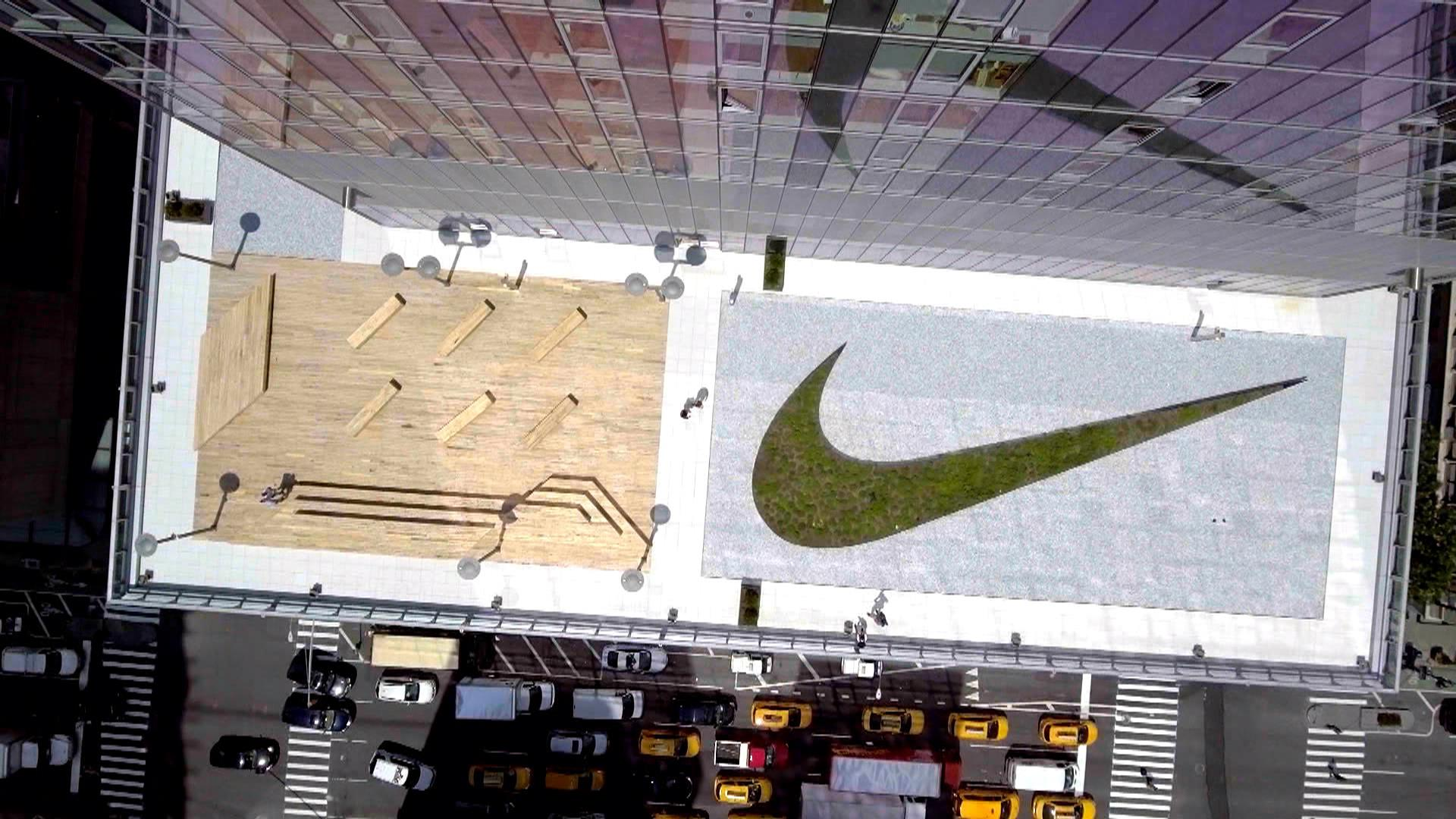the best attitude 954c9 5664c Gabby Douglas goes inside Nike s  stunning  new NYC headquarters