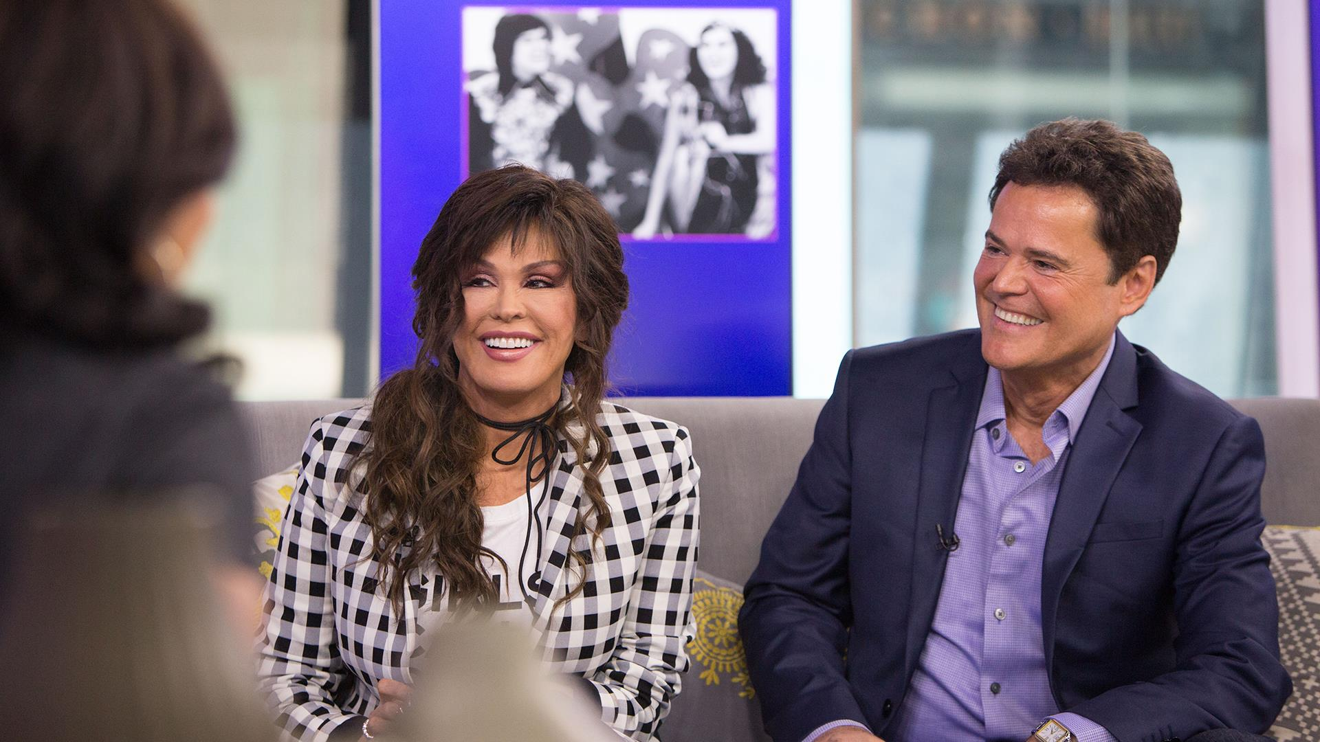 Donny and marie osmond on their vegas show we love what we do m4hsunfo