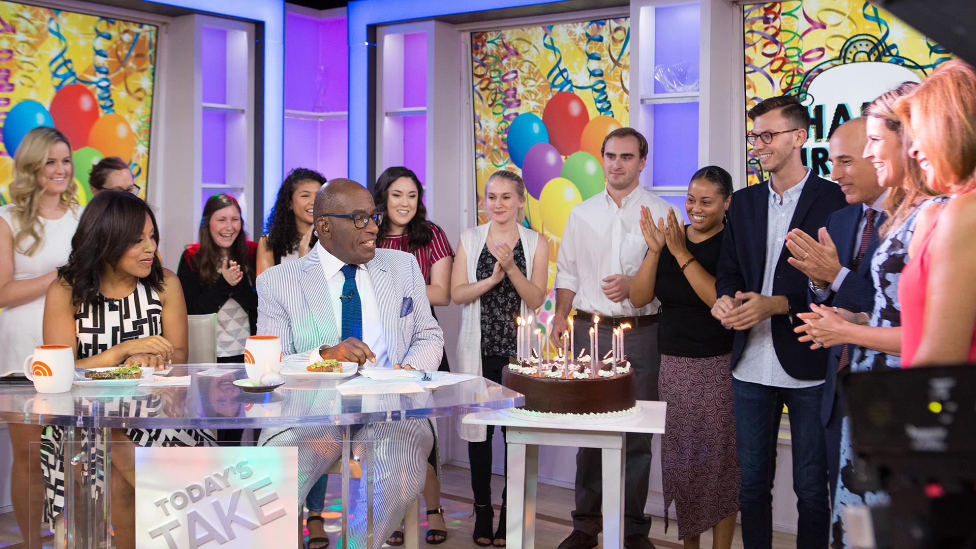 See Al Roker Get A Birthday Surprise From Today Anchors And Mr T